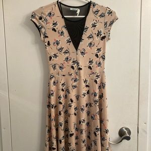 Urban Outfitters Pink Floral Dress